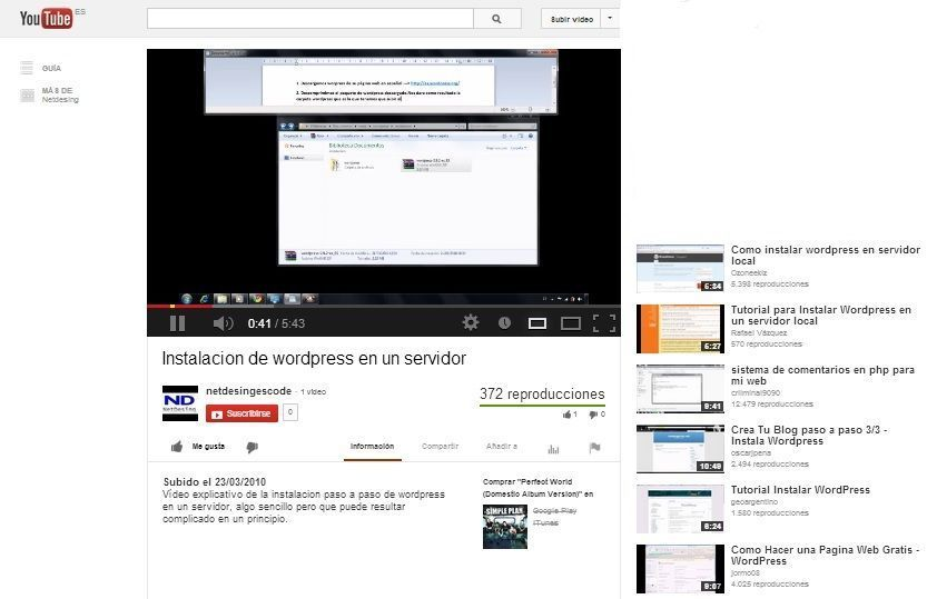 optimizar video youtube